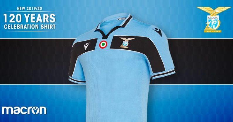 Camisetas de futbol Lazio aniversario 120