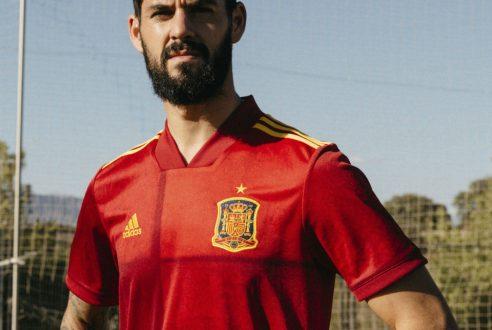 Nueva camisetas de futbol Espana 2020