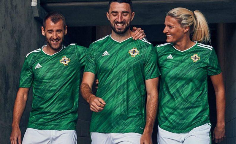 Camisetas de futbol Irlanda del Norte 2020