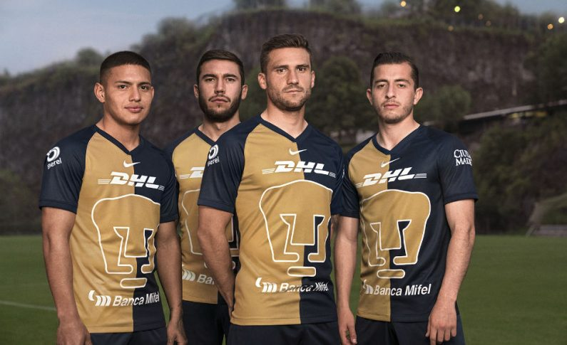 Camisetas de futbol Pumas de la UNAM 2020