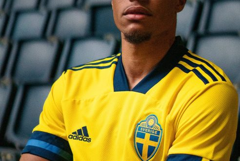 Nueva camisetas de futbol Suecia baratas 2020