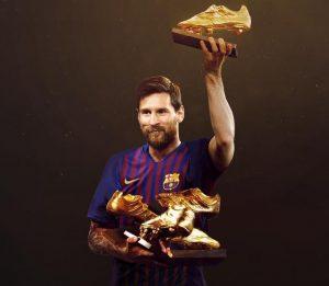 European Golden Shoe-Messi